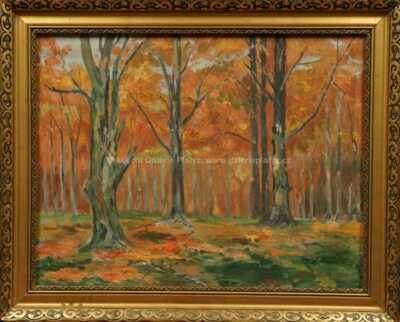 Josef  Svoboda - Podzim v oboře