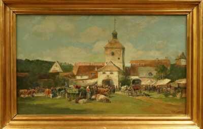 Teodor Josef Mousson - Na trhu v Sečovciach