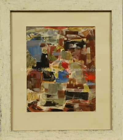 Hella Guth - Barevná abstrakce