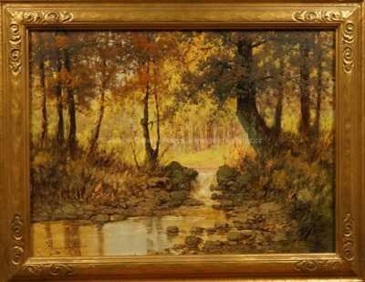Laszlo Neogrady - Lesní potok
