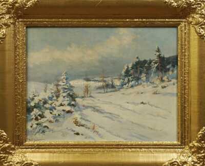 Gustav  Porš - Zimní Vysočina