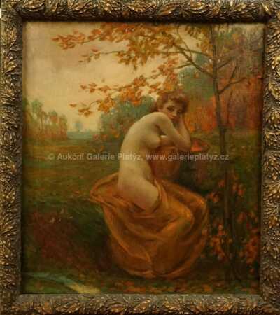 Bohumil Mareček - Dívka a podzim