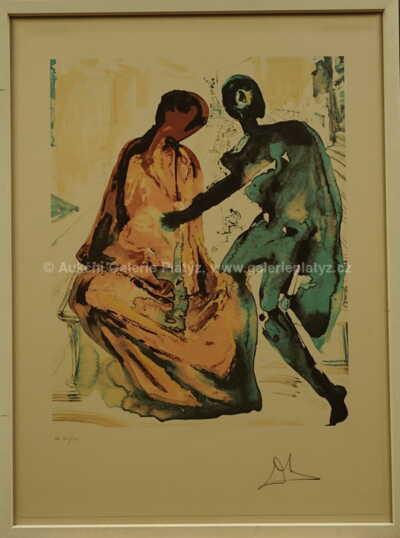 Salvador Dalí - Antonius a Kleopatra