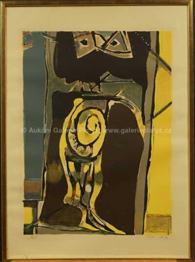 Endre  Nemes - Abstrakce I.