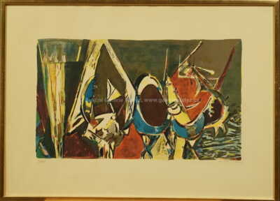 Endre  Nemes - Abstrakce II.