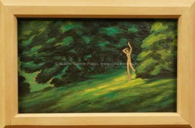 František Drtikol - Akt na kraji lesa