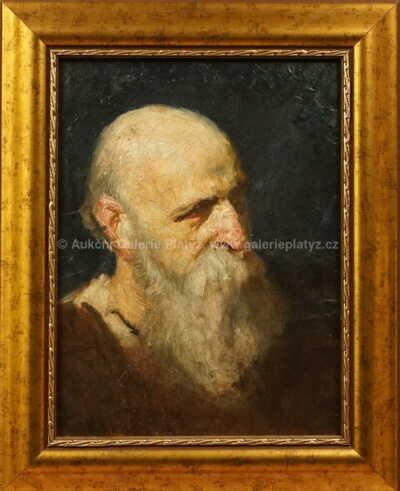 Autor neurčen - Portrét muže