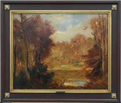 Karel Jan Sigmund - Rybník v lese
