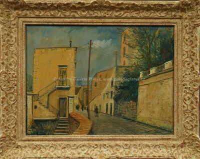 Alois Kohout - Ulička ve Francii