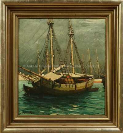 Alois Kohout - V přístavu