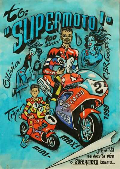 Kája Saudek - Supermoto