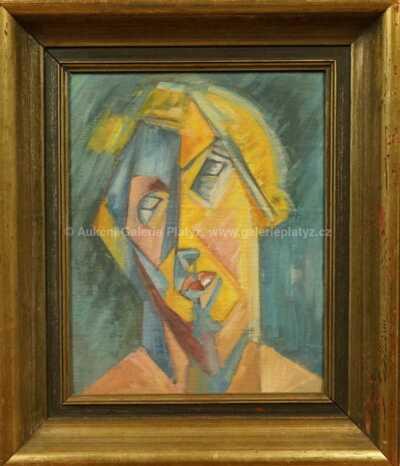 Neznačeno - Kubistická hlava