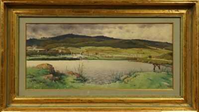 Jiří Stibral - Partie u rybníka