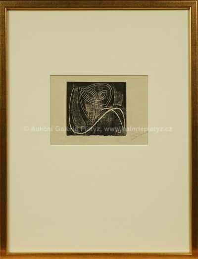 František Kupka - Grafika pro Galerii Povolovsky