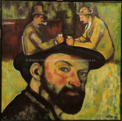 Jiří Máška - Paul Cezanne a jeho sny