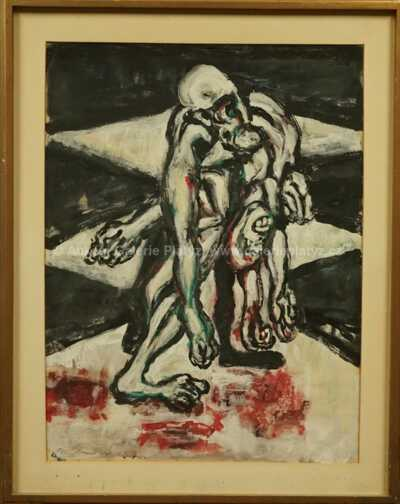 Jan  Bauch - Aiac odnáší mrtvolu Achillea