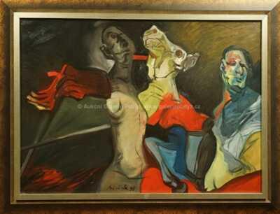 Vincent Hložník - Abstraktní skupina