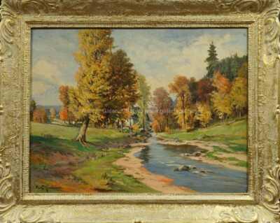 Gustav  Porš - Podzimní řeka
