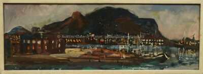 František Emler - Přístav v Palermu