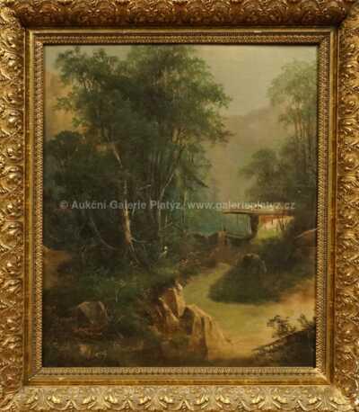 August Lang - Cesta k horské chatě