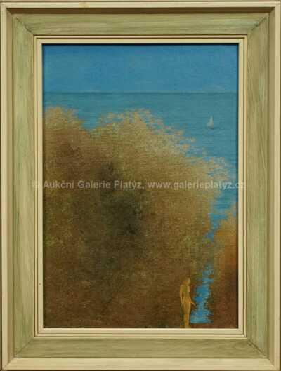 Albín Brunovský - Dívka u moře