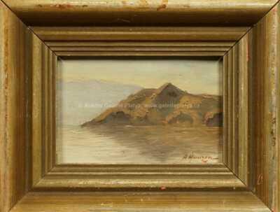 Alexej Vasiljevič Hanzen - Skalnaté pobřeží