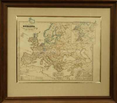 Justus Perthes - Europa - náboženské členění