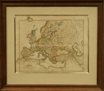 Justus Perthes - Europa 16tého století