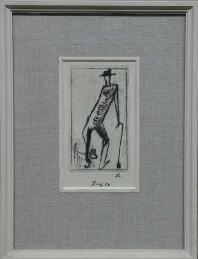 František  Tichý - Muž se psem