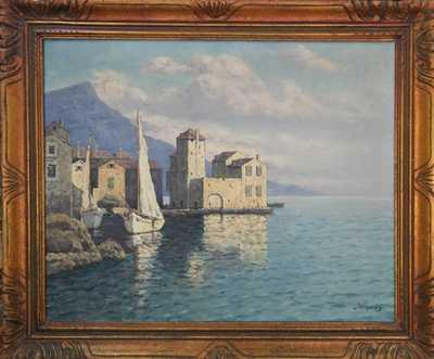 Josef Písecký (Liška) - Trogir u Splitu