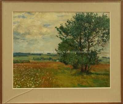 František Kaván - Stromořadí v krajině