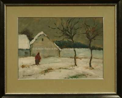 Gustav Macoun - Zimní nálada
