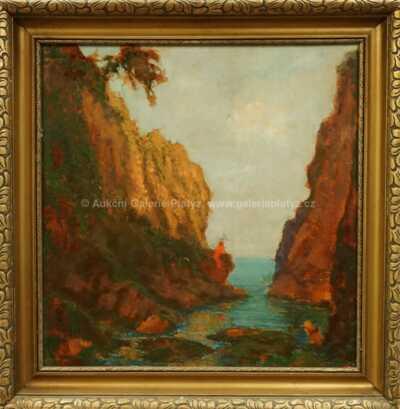 Karel Langer - Mořská úžina
