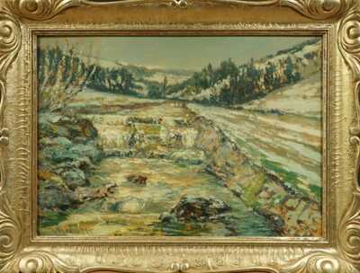 Václav Radimský - Zimní řeka