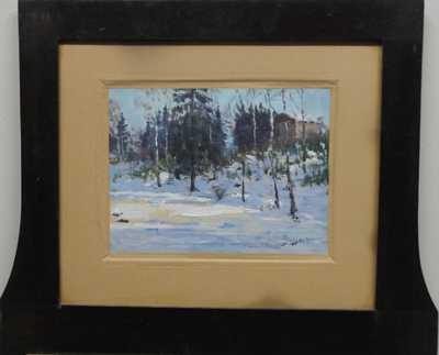 Josef Jelínek - Zimní les