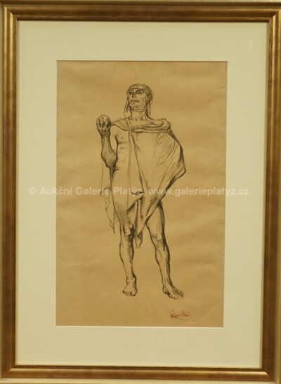 František Kupka - Etude d´homme en pied