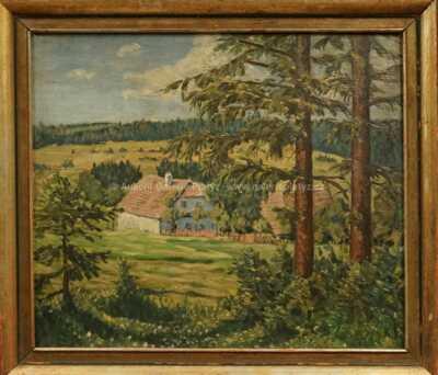 Bohuslav Dvořák - Na kraji lesa