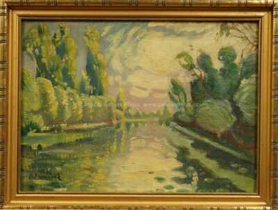 Otakar Marvánek - Na řece