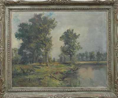 Arkadij Solovjev - U rybníka