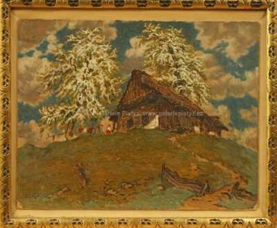 Jan Honsa - Pod rozkvetlými stromy