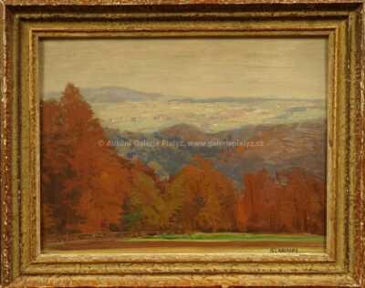 Alois Kalvoda - Podzimní krajina