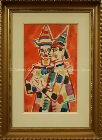 Karel Svolinský - Dva klauni