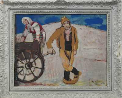 Josef Liesler - Venkovan z okolí Sozopolu