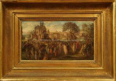 Viktor Barvitius (připsáno) - Lidová veselice v Paříži
