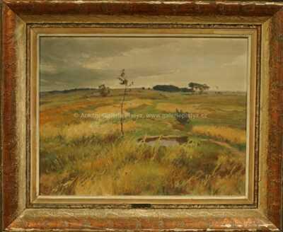 Gustav  Porš - Podzimní louky