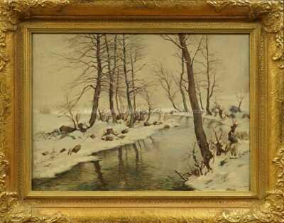 Gustav  Porš - Zimní řeka