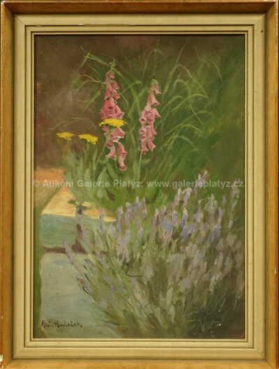 Antonín Hudeček - Květinové zátiší
