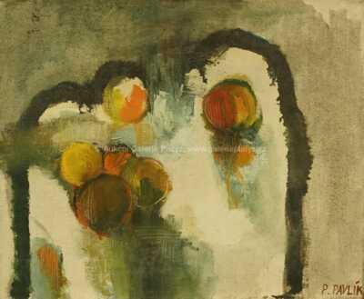 Petr Pavlík - Zátiší s jablky