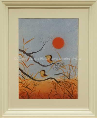 Ota Janeček - Ptáčci ve stromě