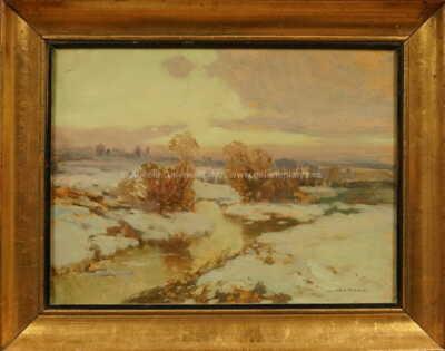 Josef Ullmann - Zimní potok